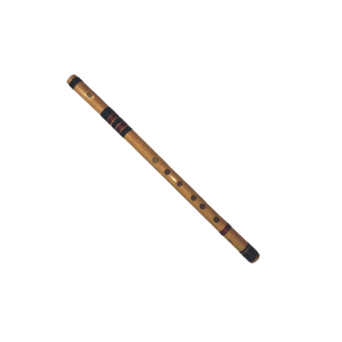 C Natural Rainbow Bamboo Whistle