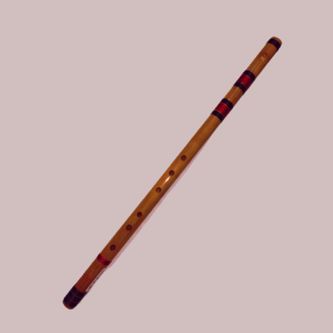 LAW Rainbow Bamboo Whistle in Key D