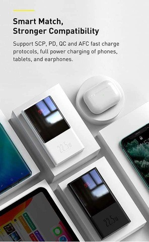 BASEUS Super Digital Display Quick Charge Power Bank 20000mAh 22.5W