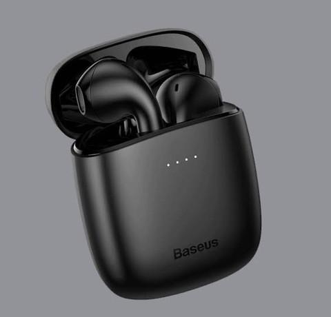 Baseus Encok W04 True Wireless Earphones – Black