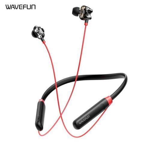 Wavefun Flex U Dual Dynamic Speaker Wireless Neckband Earphone