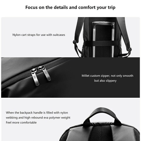Xiaomi Simple Casual Backpack 20L with 7 Days Replacement Warranty