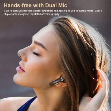 Lenovo QT81 Bluetooth 5.1 Tws earbuds true wireless headphones touch control 1200mah charging box