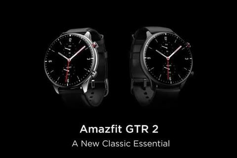 Amazfit GTR 2 AMOLED Curved Display Classic Stainless Steel Global Version – Obsidian black