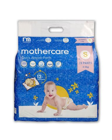 Mothercare Diaper Pants Extra Absorb Small- 74 pcs