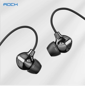 ROCK In Ear Obsidian Stereo Earphones