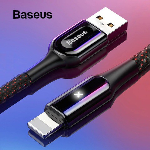 Baseus X-shaped Light Cable (type C and Lightning)