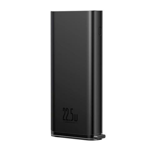 Baseus PPXC-01 Starlight Digital Display Quick Charg Power Bank 20000mAh 22.5W - Black