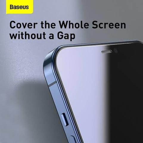 Baseus 0.3mm Full-glass Tempered Glass Film For iPhone 12, iPhone 12 Pro, iPhone 12 Pro Max