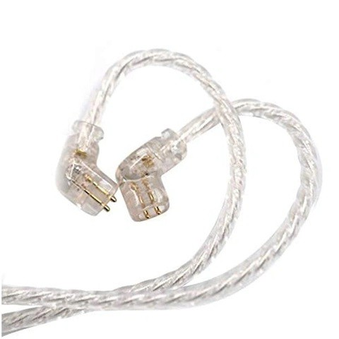 KZ C Pin Silver Plated Upgrade Cable (Without Mic) [4 months warranty)