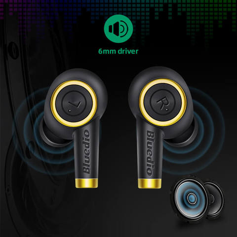 Bluedio Particle P True Wireless Earbuds (7 days replacement warranty)