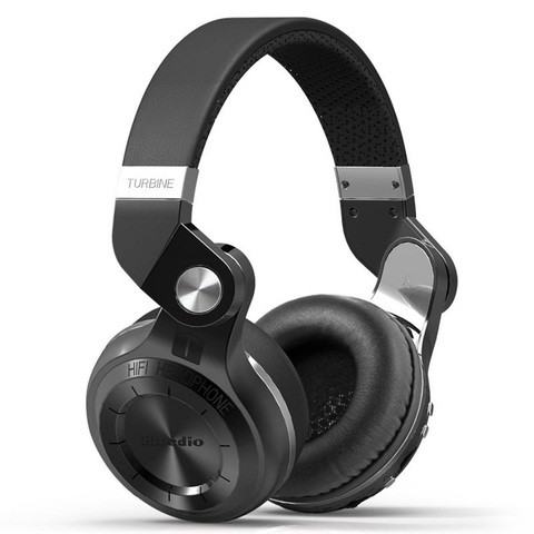 Bluedio T2 Plus Turbine Wireless Headphones (7 days replacement warranty)