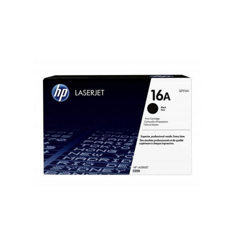 HP 16A Black Original LaserJet Toner (Q7516A)