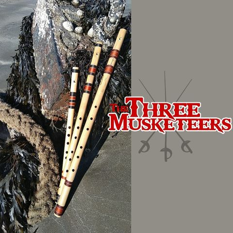 The Three Musketeers Base Bamboo Whistle Set
