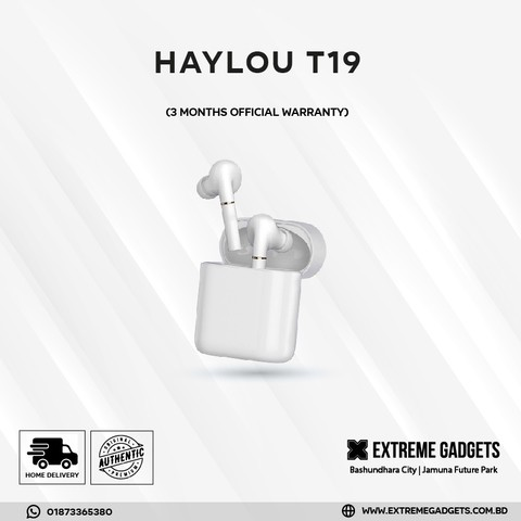 Haylou T19 TWS Earbuds (3 months official warranty)