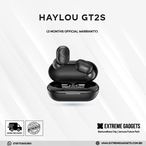 Haylou GT2S TWS Bluetooth 5.0 Earbuds (3 month warranty)