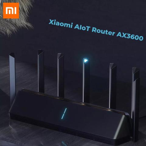 Xiaomi Mi AIoT AX3600 2976Mbs Dual Band Wifi 6 5G 7 Antenna Router (6 months official warranty)