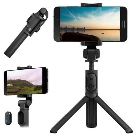 Mi Selfie Stick Tripod (with Bluetooth remote) Black (3 months official warranty)