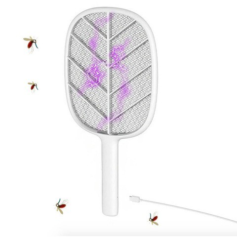 Xiaomi Solove P2 Electric Mosquito Swatter Black/white (3 months official warranty)