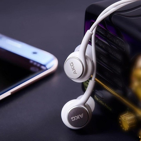 AKG Earphone 2nd Generation (3.5mm) [Pearl White Limited Edition]