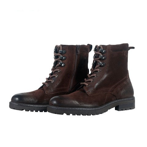 Brown Leather Boot for Men-001123