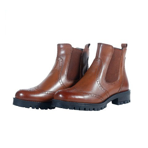 Brown Leather Boot for Women-181507