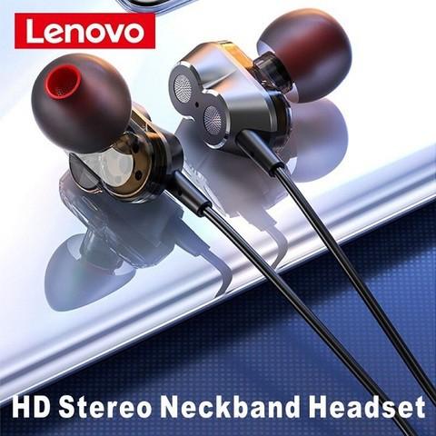 Lenovo He08 Neckband Earphone (1 month warranty)