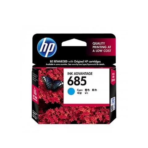 HP 685 Cyan Original Ink Advantage Cartridge (CZ122AA)