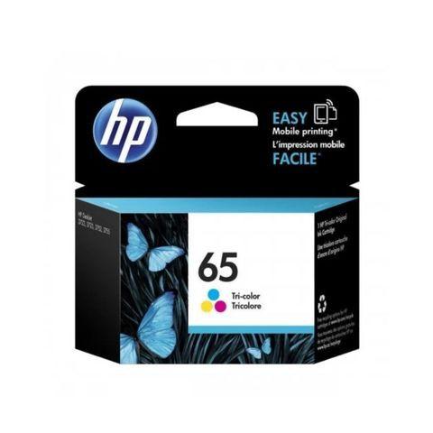 HP 65 Tri-color Original Ink Cartridge