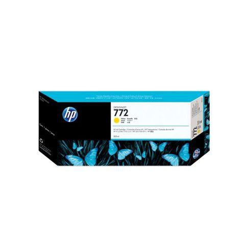 HP 772 300-ml Yellow DesignJet Ink Cartridge, CN630A