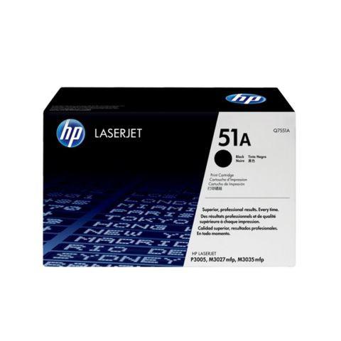 HP 51A Black Original LaserJet Toner (Q7551A)