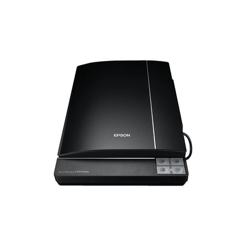 Epson Perfection V370 A4 Photo and Film Flatbed Scanner