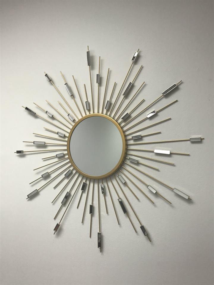 Decorative Metal Mirror