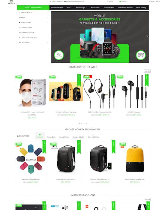 Storrea client gadgetmonkeybd.com